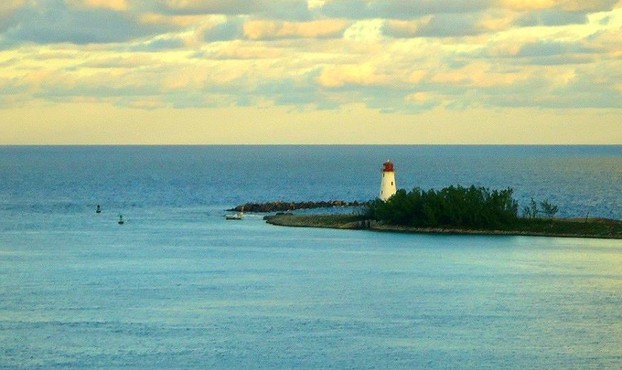 Hog Island Light, Nassau, The Bahamas