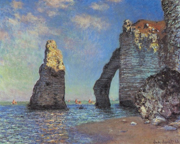 Claude Monet The Cliffs at Etretat
