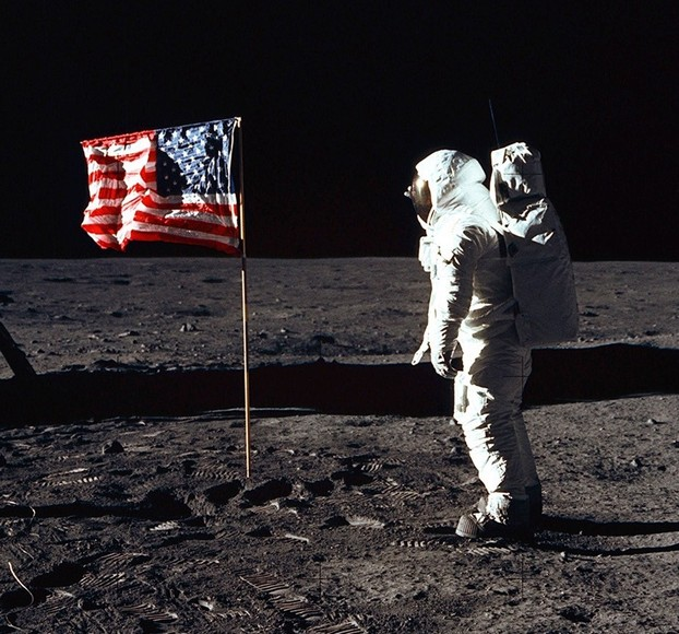 Annin U.S. Flag on the Moon