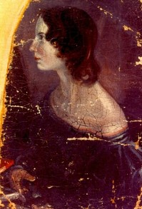 Portrait of Emily Brontë by her brother Branwell Brontë