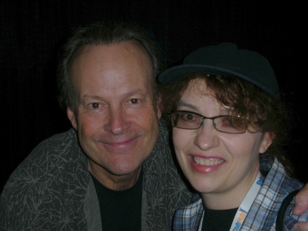 Sockii and Dwight Schultz
