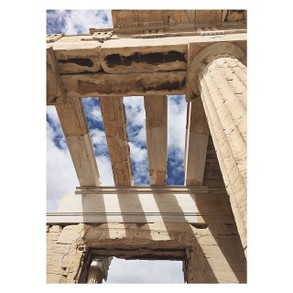The Parthenon in Acropolis of Athens