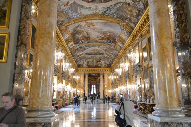 The Colonna Palace is only open to visitors on Saturday mornings, and you don't want to miss it.