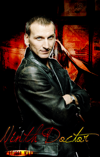 Christopher Eccelston as the Ninth Doctor