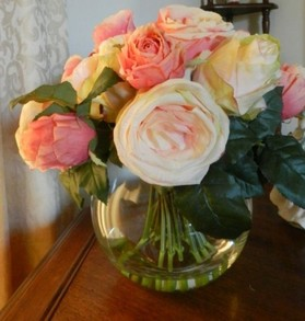A Purchased Jane Seymour Floral Arrangement