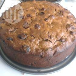 Boiled fruit cake