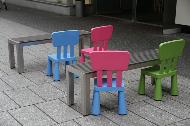 Mini chairs and tables