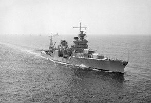 USS Indianapolis in 1939