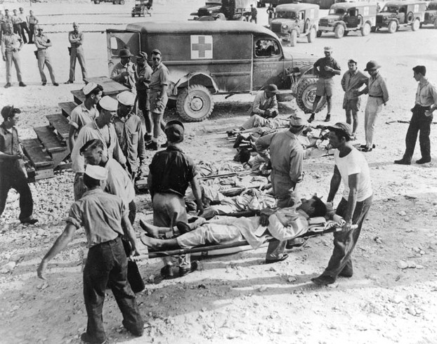 Survivors of Indianapolis Being Treated in Guam