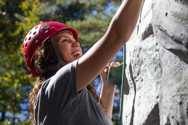 Take your relationship to new heights with rock climbing lessons for your girlfriend's birthday.