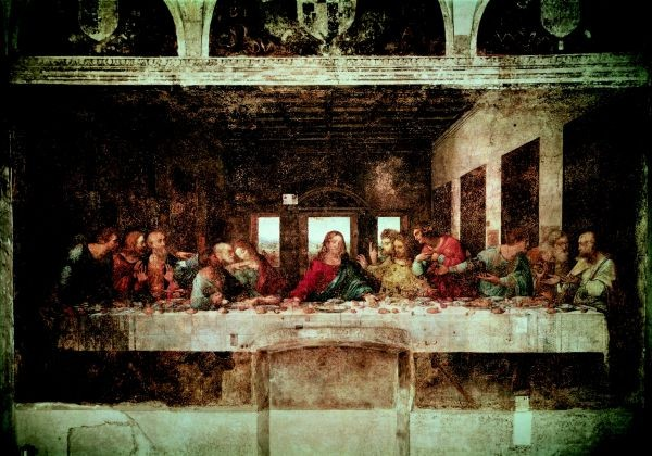 Leonardo da Vinci's The Last Supper (Milan)
