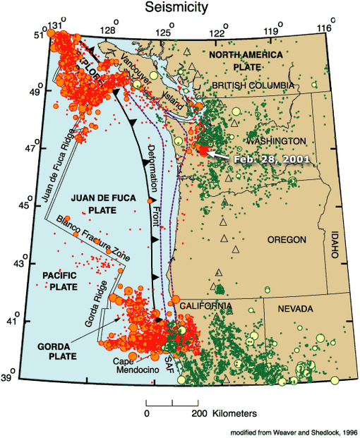 Pacific Northwest geologic mapping and urban hazards