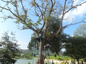 A view of the Yelagiri Lake