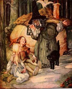 Hansel and Gretel by Anne Anderson