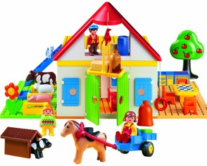 1,2,3 Toy Farm by Playmobil