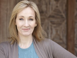 J.K Rowling, The author of Harry Potter