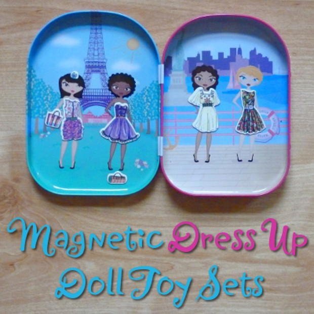 Magnetic Doll Dress Up Toys and Figure Sets