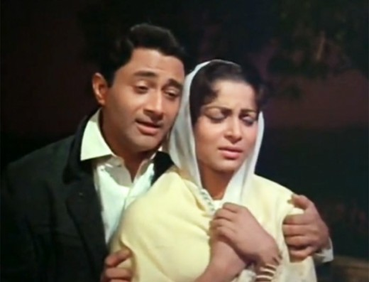 Dev Anand with Waheeda Rahman