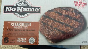 No Name Steakhouse Burgers