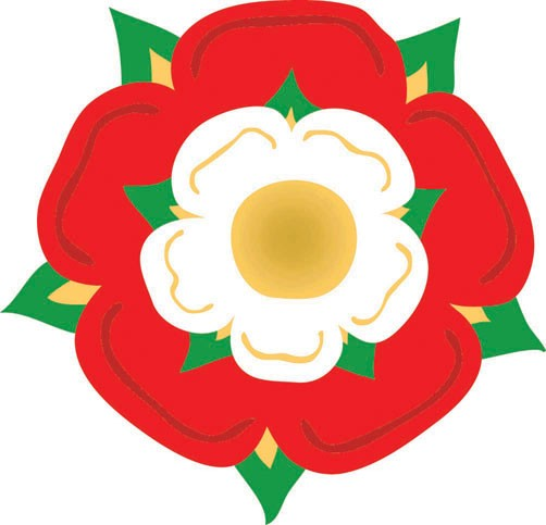 Henry combined the Yorkshire &lancashire Rose