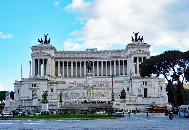 Vittorio Emanuelle Monument (known locally as the Wedding Cake)