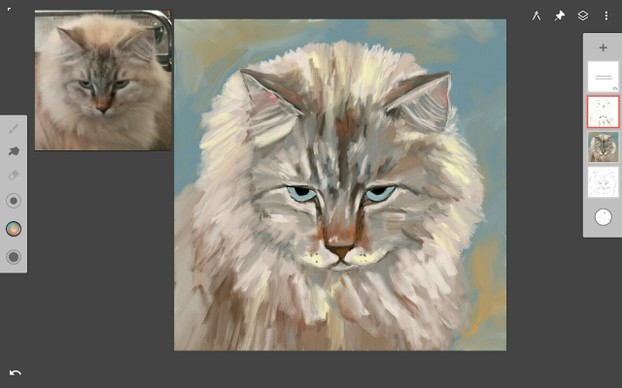 More Blending of the Fur and Adding Highlights