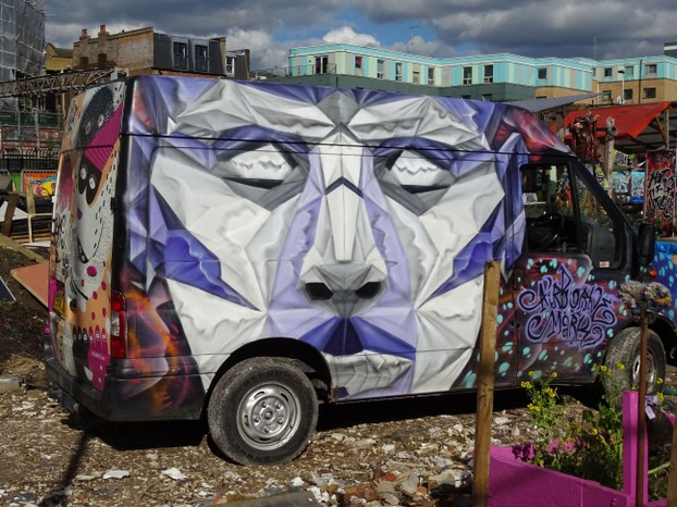 The Graffities Van