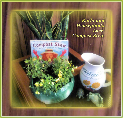 Euthi and her houseplants love Compost Stew
