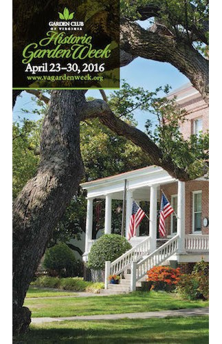 Garden Club of Virginia Historic Garden Week April 23-30, 2016