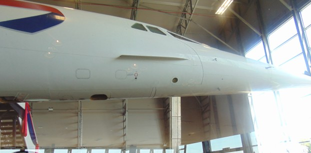 Concorde is housed at Manchester