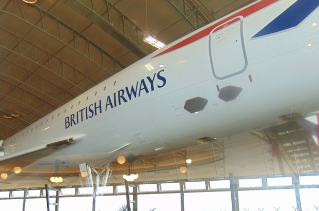 Concorde was a British Airways jet