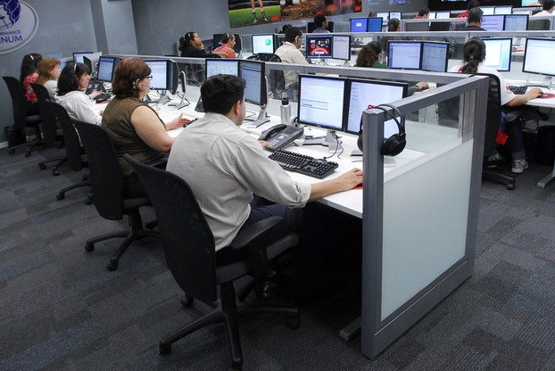 A good call centre can keep customers happy.