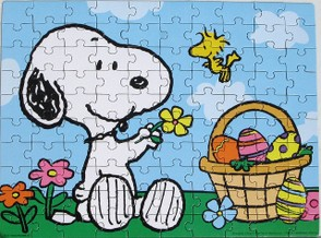 Snoopy Easter Puzzle