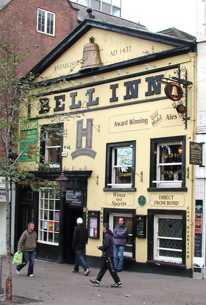 The Bell in its yellow days