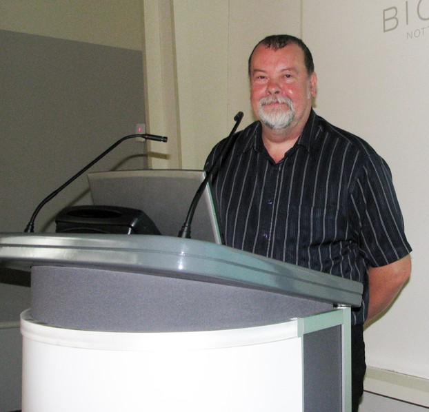 Chris Boulton gives a yeasty talk at Nottingham's Biocity
