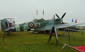 WW2 planes on display