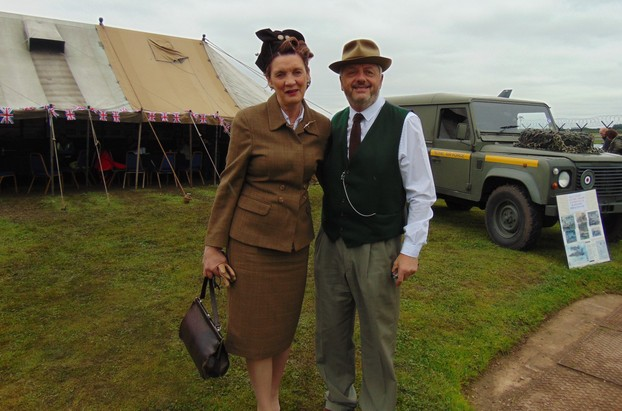 lovely people took part in WW2 outfits