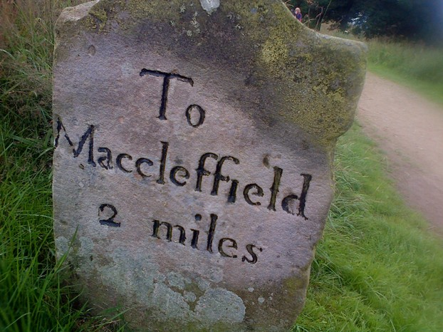 Macclesfield way stone