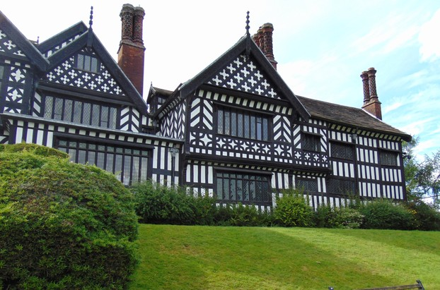 The back of Bramall hall