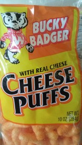 Bucky Badger Cheese Puffs