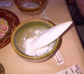 Cuttle fish bone and powder