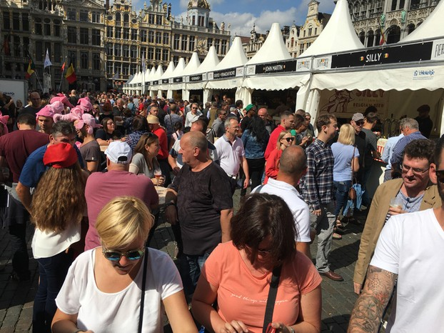 Belgian Beer Weekend 2016 in Brussels