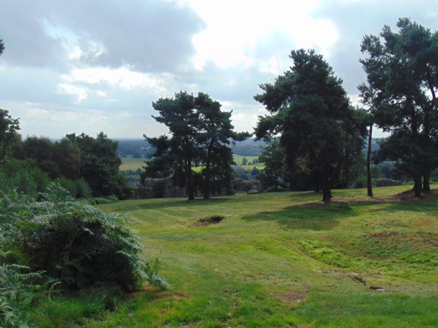 The view of Cheshire from the top