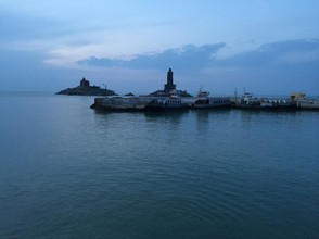 Kanyakumari, the most Southern point of India