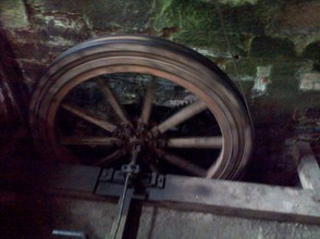 mill wheel working