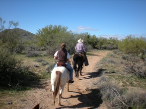 Trail Riding, Scottsdale Preserve