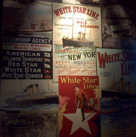 White Star Line exhibit