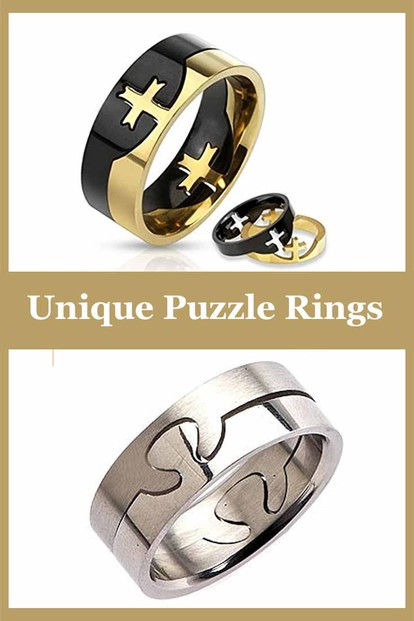 Puzzle Rings Jewelry - A Unique Piece of Romantic Jewelry