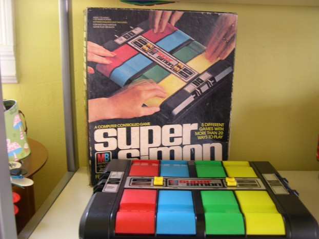 Retro Simon Game