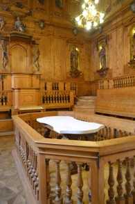 Anatomical theatre of the Archiginnaso